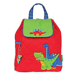 Stephen Joseph® Dinosaur Quilted Backpack in Red