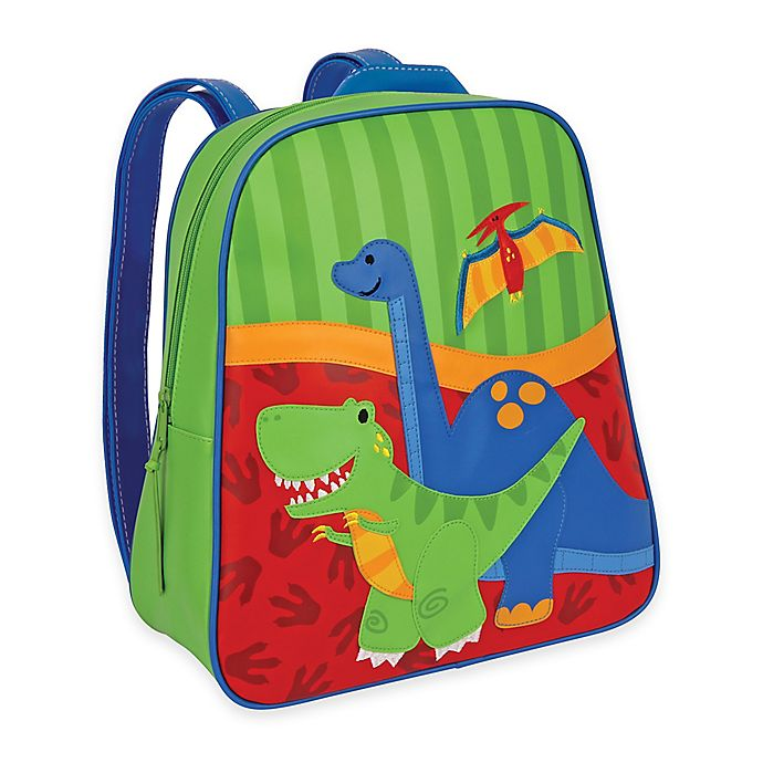 Alternate image 1 for Stephen Joseph® Dino Go Go Backpack in Green/Red