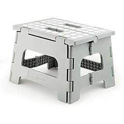Kikkerland Design Rhino II Step Stool in Grey