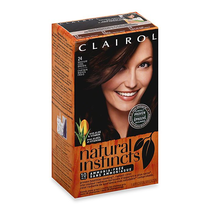 Clairol® Natural Instincts Ammonia-Free Semi-Permanent Color in 24  Clove Medium Cool Brown fbf46a6b18