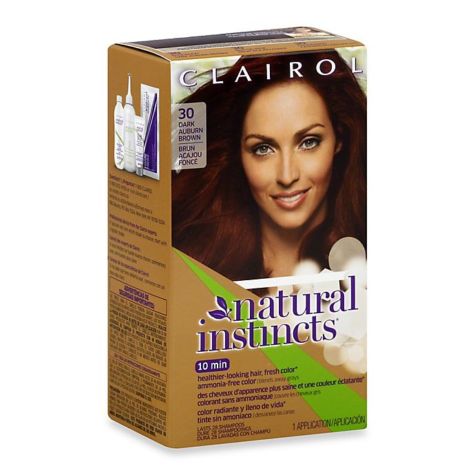 Alternate image 1 for Clairol® Natural Instincts Ammonia-Free Semi-Permanent Color in Rosewood/Dark Auburn Brown