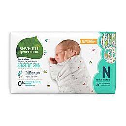 Seventh Generation™ Free and Clear Newborn 36-Count Disposable Diapers