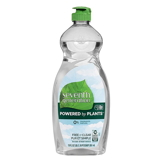 Alternate image 1 for Seventh Generation™ 19 oz. Free and Clear Liquid Dish Soap