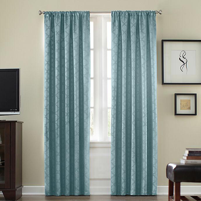 Alternate image 1 for Athena Rod Pocket Room  Darkening Window Curtain Panel