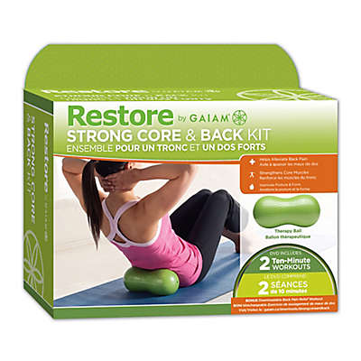 Gaiam® Restore Back and Core Kit