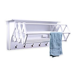 Accordion Drying Rack in White