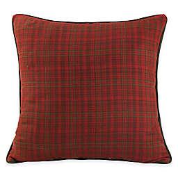 HiEnd Accents Cascade Lounge European Pillow Sham in Red