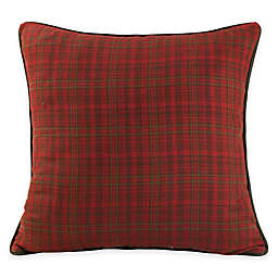 HiEnd Accents Cascade Lounge European Pillow Sham in Red