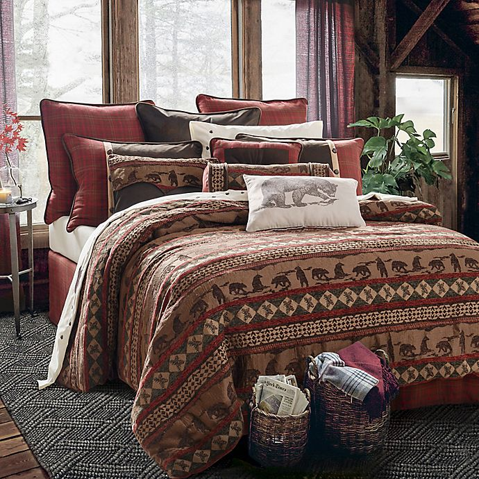 Alternate image 1 for HiEnd Accents Cascade Lodge Comforter Set