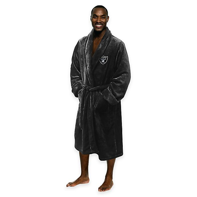 b93be7f153 NFL Oakland Raiders Men s Large X-Large Silk Touch Bath Robe
