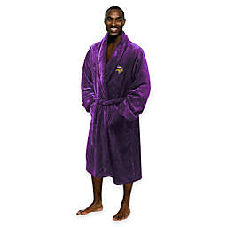NFL Minnesota Vikings Men's Large/X-Large Silk Touch Bath Robe