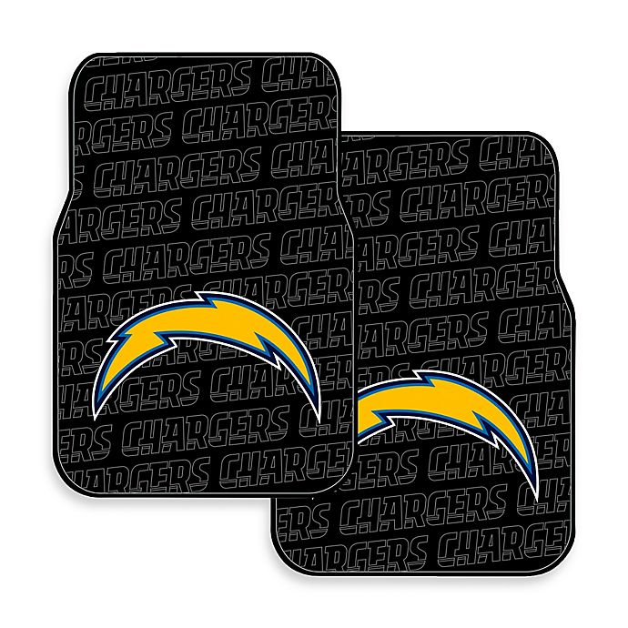 San Diego Chargers Car: Buy NFL San Diego Chargers Rubber Car Mats (Set Of 2) From