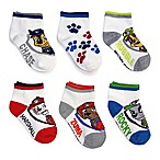 Nickelodeon™ PAW Patrol Size 2T-4T 6-Pack Quarter Socks