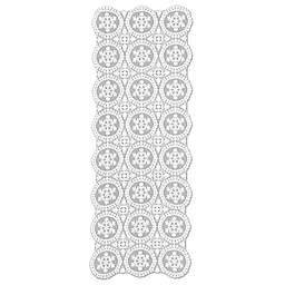 Heritage Lace® Yuletide Table Runner in White