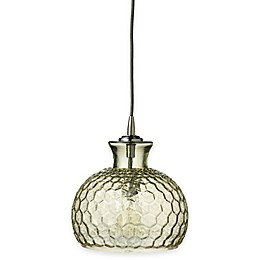 Clark 1-Light Glass Pendant