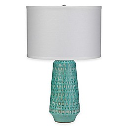 Coco Ceramic Table Lamp in Ocean