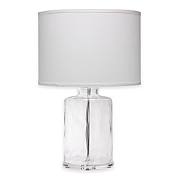 Napa Clear Glass Table Lamp