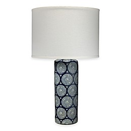 Neva Blue and White Table Lamp
