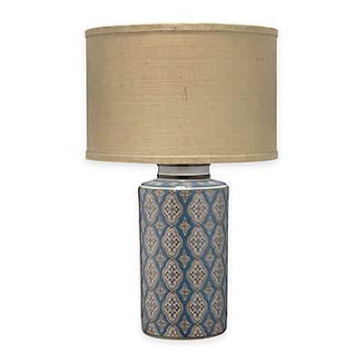 Jamie Young Verona Table Lamp in Blue/Brown