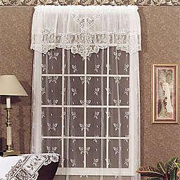 Heritage Lace® Heirloom Window Curtain Panel and Valance