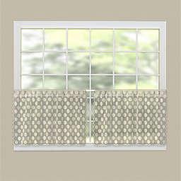 Heritage Lace® Polka Dot Rod Pocket Kitchen Curtain Tier Pair