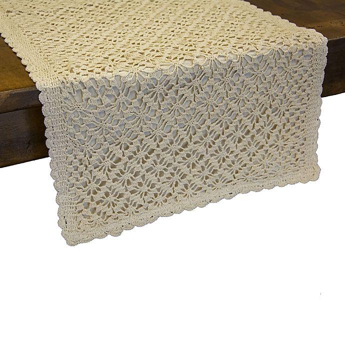 Alternate image 1 for Heritage Lace® Crochet Envy Table Runner