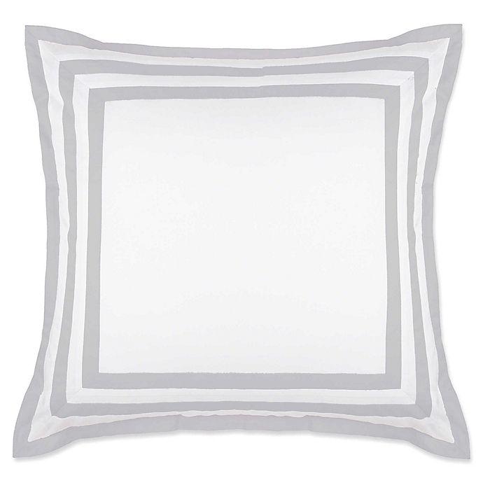 Alternate image 1 for Wamsutta® Hotel Border European Pillow Sham