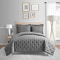 Bridge Street Blair Full/Queen Coverlet in Charcoal