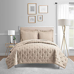 Bridge Street Blair King Coverlet in Oatmeal
