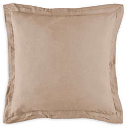 Bridge Street Camille European Pillow Sham in Oatmeal