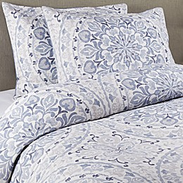 Wamsutta® Tinley 3-Piece Duvet Cover Set in Blue
