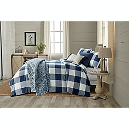 Bee & Willow™ Home Yarn Dye Buffalo Check 3-Piece Duvet Cover Set