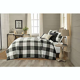 Bee & Willow™ Home Yarn Dye Buffalo Check 3-Piece Full/Queen Duvet Cover Set in Charcoal