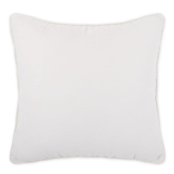 Alternate image 1 for Bee & Willow™ Home Washed Velvet Square Throw Pillow