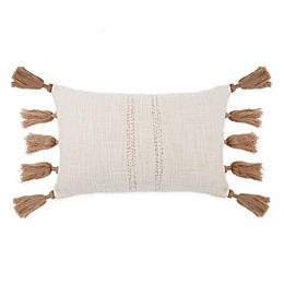 Bee & Willow™ Home Woven Tassel Oblong Throw Pillow