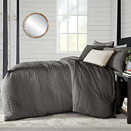 Bee & Willow™ Home Fringe Stripes Jacquard 3-Piece Duvet Cover Set