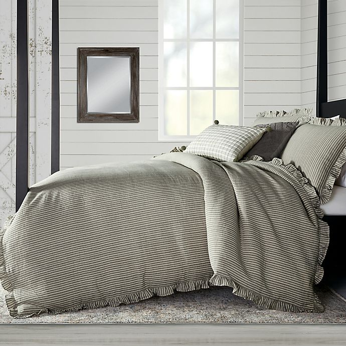 Alternate image 1 for Bee & Willow™ Home Stripe Ruffle Bedding Collection