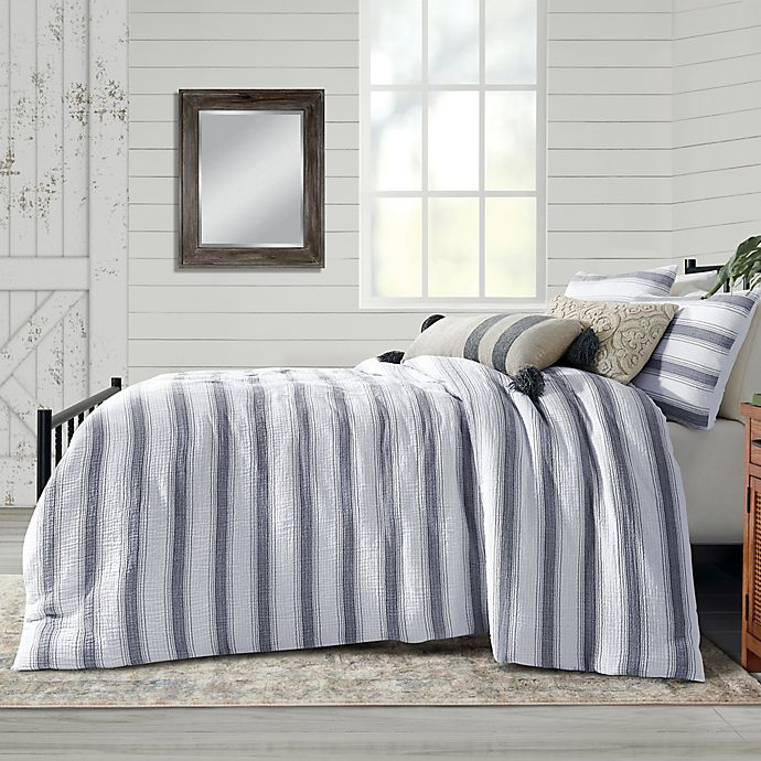 Alternate image 1 for Bee & Willow™ Home Dash Stitch Stripe Bedding Collection