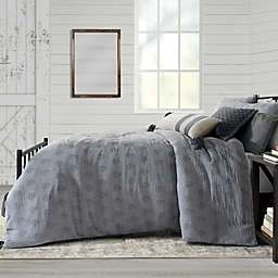 Bee & Willow™ Home Block Print 3-Piece Duvet Cover Set