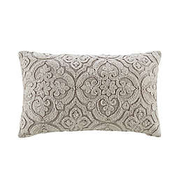 Bee & Willow™ Home Medallion Oblong Throw Pillow in Grey