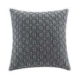 Bee & Willow™ Acid Wash Square Throw Pillow in Grey