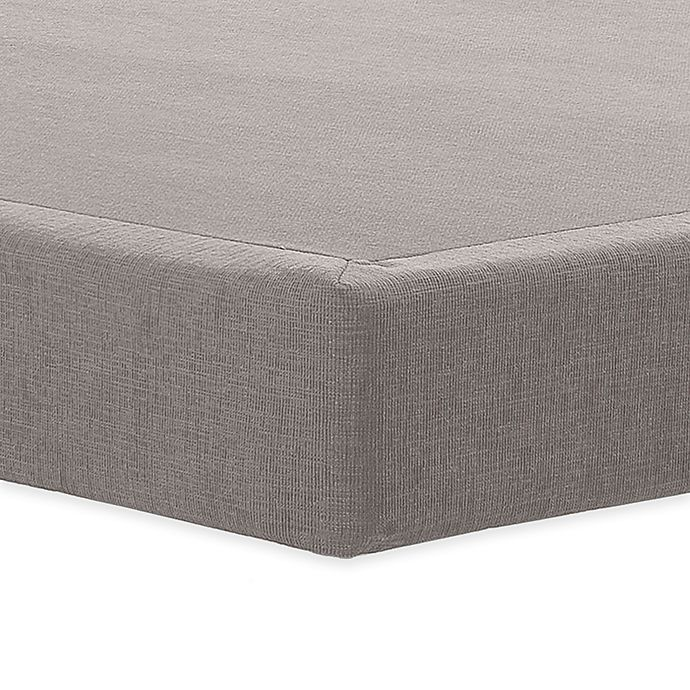 Alternate image 1 for Tempur-Pedic® TEMPUR-Flat™ 5-Inch Low Profile Foundation in Grey