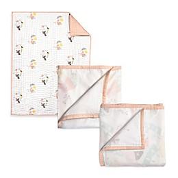 Nurseryworks by Wee Gallery Menagerie 3-Layer Muslin Blanket