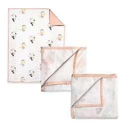 Nurseryworks by Wee Gallery Menagerie 3-Layer Muslin Blanket