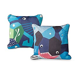 Nursery Works Wee Gallery Organic Cotton Oceanography Toddler Pillow