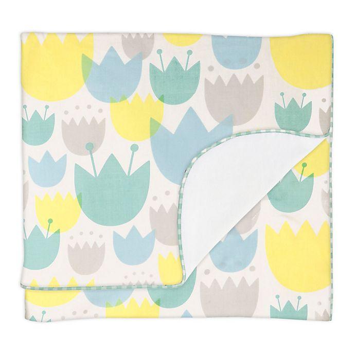 Alternate image 1 for Babyletto Tulip Garden Stroller Blanket