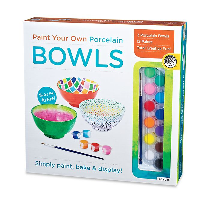 Alternate image 1 for Paint Your Own Porcelain Bowls