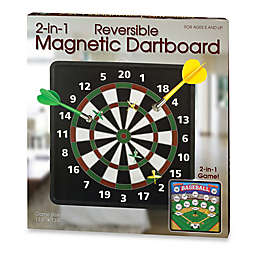 2-in-1 Reversible Magnetic Dartboard