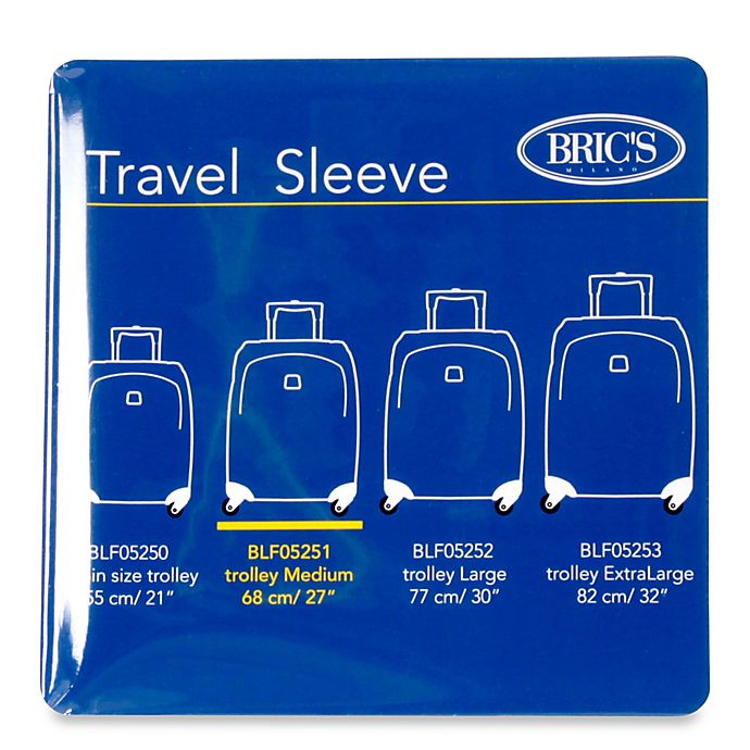 Alternate image 1 for Bric's 26-Inch Transparent Luggage Cover for BLF/BAE Spinner