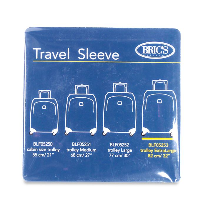 Alternate image 1 for Bric's 32-Inch Transparent Luggage Cover for BLF/BAE Spinner